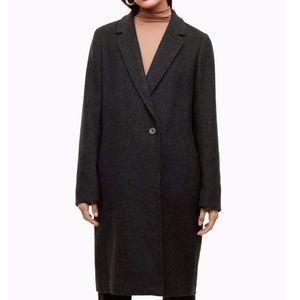 Babaton Aritzia Stedman mid wool cashmere coat S